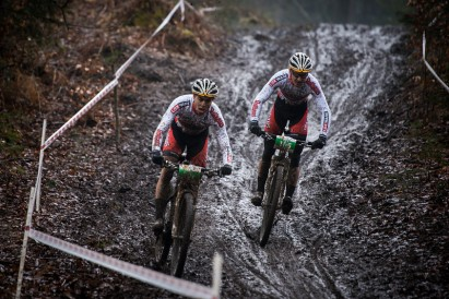 Winterweather and giant number of racers at Bad Säckingen!